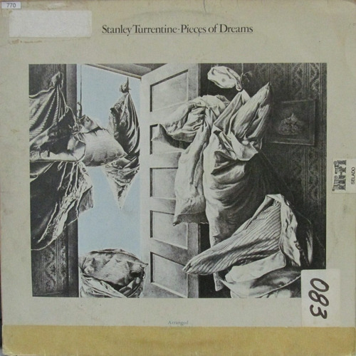 lp stanley turrentine pieces of dreams cond. gene page