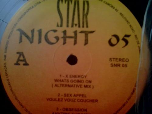 lp star night vol 05 c/ x energy - randy bush - coolio