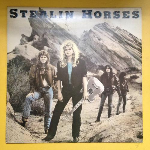 lp stealin horses . stealin horses 1988 x
