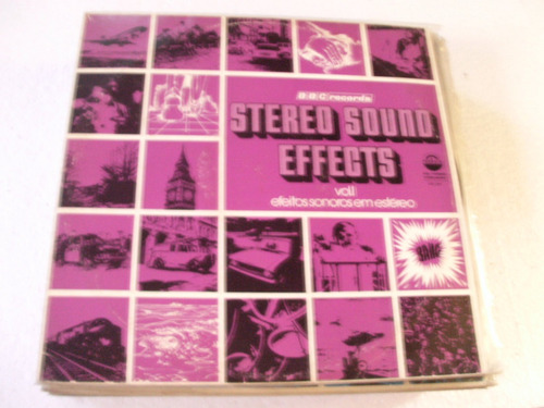lp stereo sound effects - vol 1 - 1976