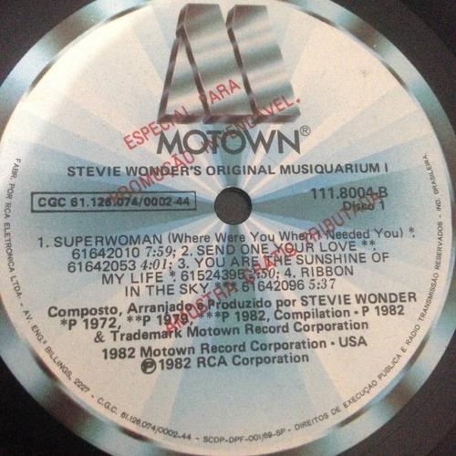 lp stevie wonder (the original musiquarium)