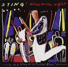 lp sting 2lp - bring on the night ak - 1986