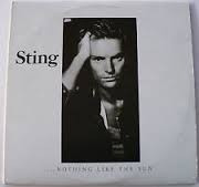 lp sting - 2lp - nothing like the sun ah - 1987
