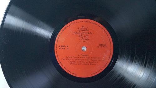 lp strauss los grandes maestros de la música vol. 16