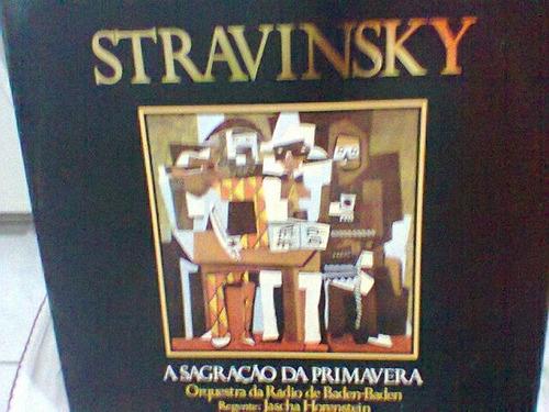 lp stravinsky / a sagração da primavera    (frete grátis)