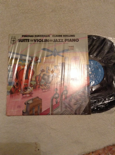 lp suite for violin and jazz piano