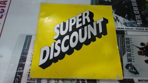 lp super discount imp en acetato,long play