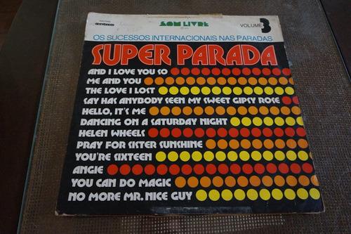 lp super parada vol 3 - 1974