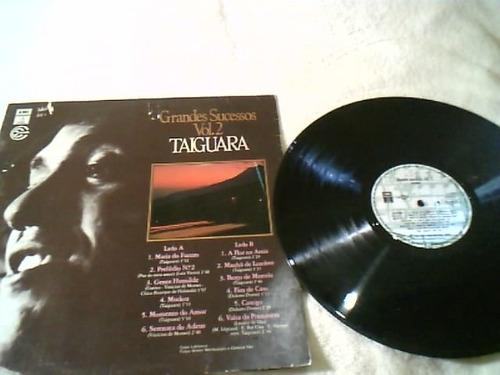 lp taiguara - grandes sucessos vol 2 - emi - 1989
