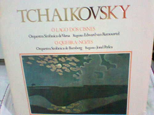 lp tchaikovsky / lago dos cisnes -quebra-nozes  frete grátis
