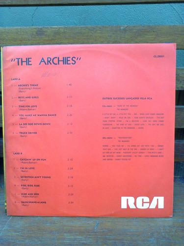 lp the archies archie's theme colecionadores 1969 raro