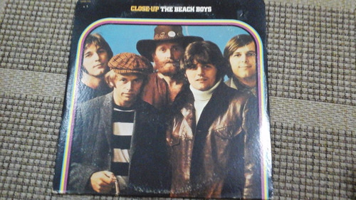 lp-the beach boys -close -up- duplo-import