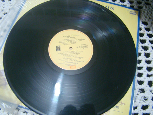 lp the beatles ballads