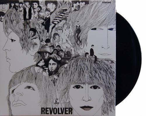 lp the beatles - revolver, novo 2012 180g prens europeia