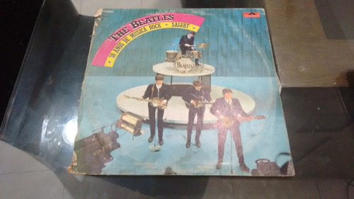 lp the beatles salvat en formato acetato,long play