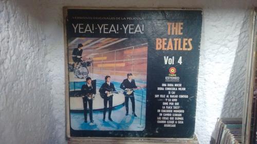 lp the beatles vol 4 en formato acetato,long play