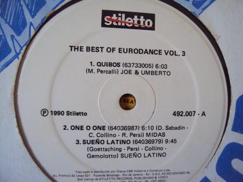 lp the best of eurodance vol 3 - 1990