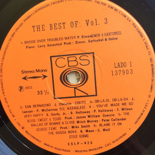 lp the best of ( vol.3 )