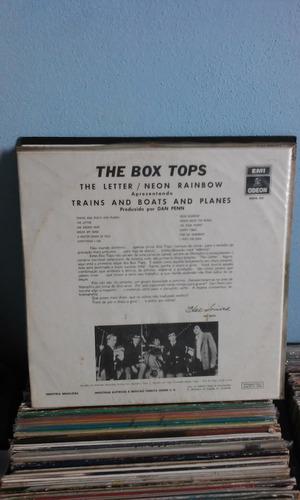 lp the box tops the letter neon rainbow capa sanduíche 1969