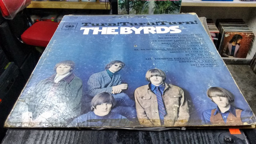 lp the byrds turn,turn,turn en formato acetato,long play
