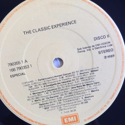 lp the classic experience