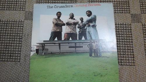 lp-the crusaders-unsung heroes-importado-com encarte