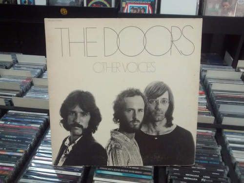lp - the doors - imp - other voices - capa dupla