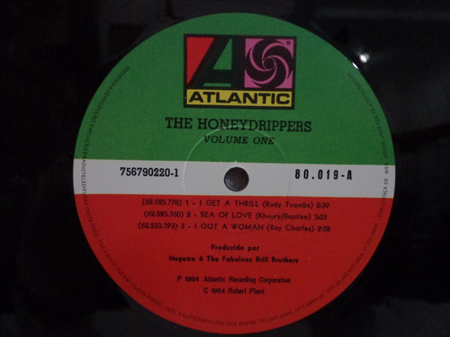lp the drippers-honey-atlantic-1984