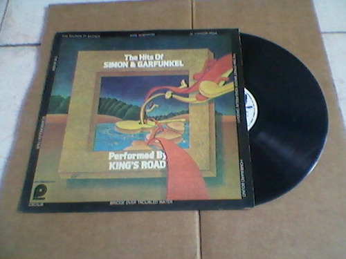 lp the hits of simon & garfunkel performed by king's road