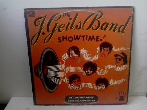 lp the j geils band showtime c/encarte - prat. novo