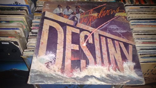 lp the jackson five destiny en formato acetato,long play