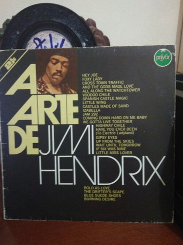 lp the jimi hendrix concerts duplo