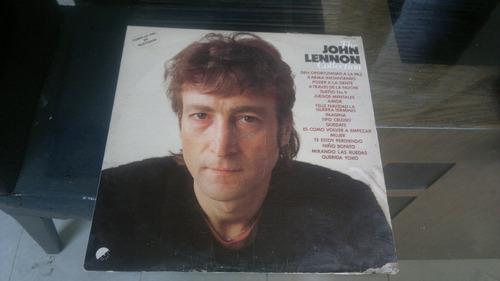 lp the john lennon collection,funcionando,acetato,long play