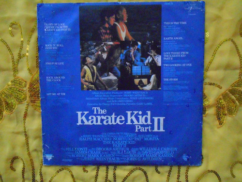lp the karate kid parte ii p/1986- a hora da verd continua