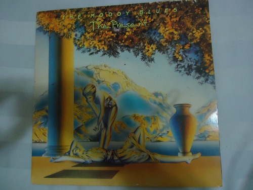 lp - the moody blues - the present - importado - capa dupla