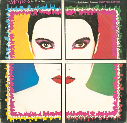 lp the motels - all four one - only the lonely - 1982 - capi