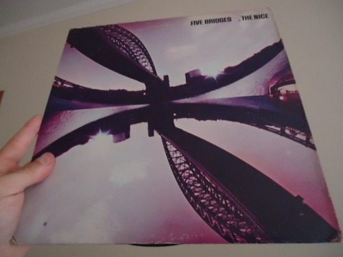 lp - the nice - the five bridgers - importado - gatefold