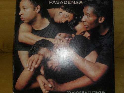 lp - the pasadenas 1988  funck melodia  black music