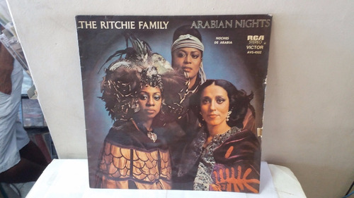 lp the ritchie family arabian nithts 1977 ja