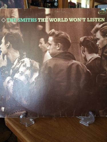 lp the smiths- the won't listen
