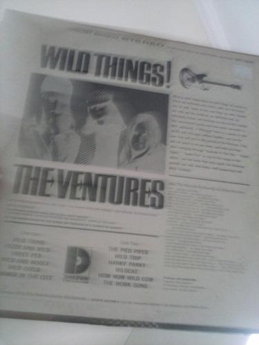 lp - the ventures - wild things! - importado - super raro