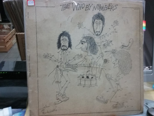 lp the who - by numbers importado