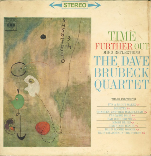 lp time further ouit - miro reflections - the dave brubeck q
