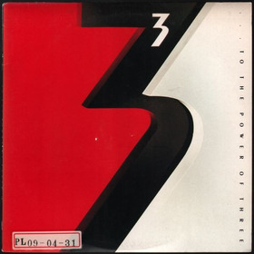 Lp To The Power Of Three Geffen Records 1988 Nacional