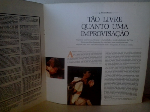 lp tom jobim - historia musica popular brasileira envio 13,0