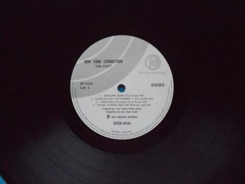 lp tom scott- new york connection p/1975