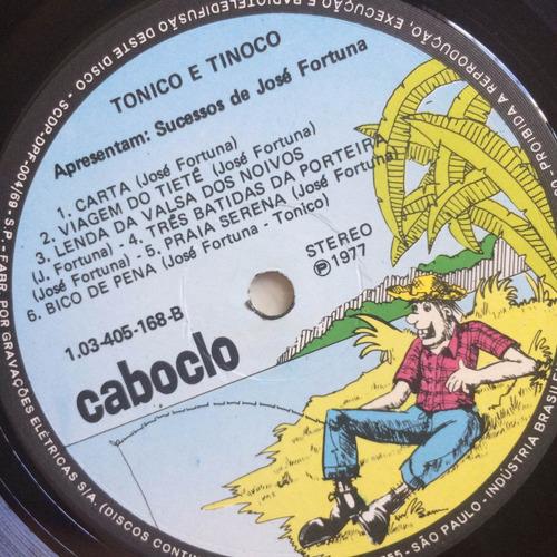 lp tonico e tinoco ( sucessos de josé fortuna )