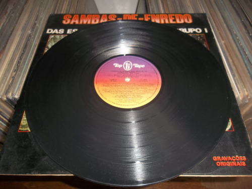 lp top tape/  sambas de enredo rio 1980