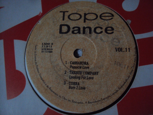 lp tope dance vol 11 new music