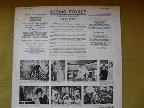 lp-trilha sonora casino royale 1967 rca victor